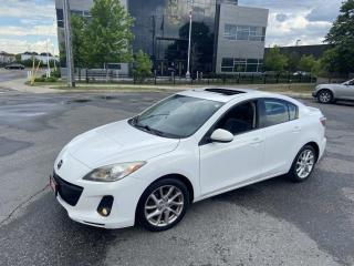Used 2012 Mazda MAZDA3 GT, Leather, Sunroof, Auto, 4 Door, Warranty Avail for sale in Toronto, ON