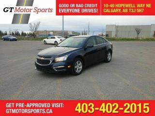 Used 2015 Chevrolet Cruze 2LT  LEATHER I $0 DOWN - EVERYONE APPROVED!! for sale in Calgary, AB
