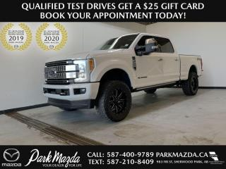 Used 2018 Ford F-350 Super Duty SRW PLATINUM for sale in Sherwood Park, AB