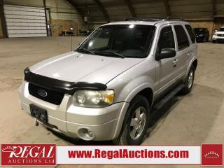 Used 2006 Ford Escape Limited 4D Utility AWD for sale in Calgary, AB