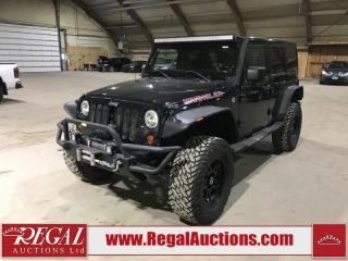 Used 2011 Jeep Wrangler 70TH ANNIVERSARY 4D UTILITY 3.8L for sale in Calgary, AB