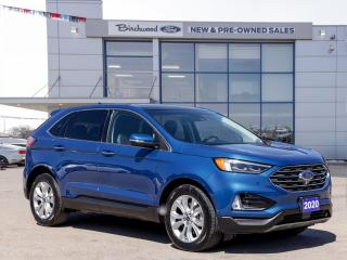 Used 2020 Ford Edge Titanium NAV | ROOF | ADAPT CRUISE for sale in Winnipeg, MB