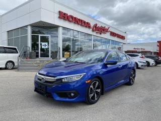 Used 2018 Honda Civic Touring SUNROOF | LEATHER | for sale in Winnipeg, MB