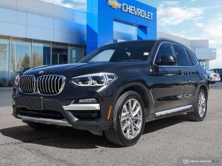 Used 2018 BMW X3 xDrive30i AWD | Leather | Navigation | Bluetooth for sale in Winnipeg, MB