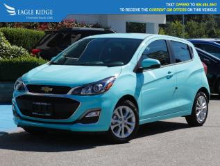 New 2021 Chevrolet Spark 1LT CVT Apple CarPlay & Android Auto, Backup Camera for sale in Coquitlam, BC