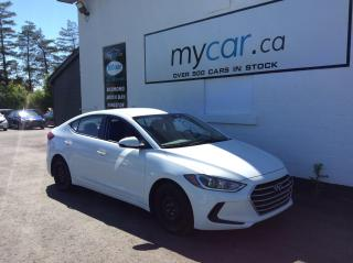 Used 2017 Hyundai Elantra L HEATED SEATS, BACKUP CAM, A/C!! for sale in North Bay, ON