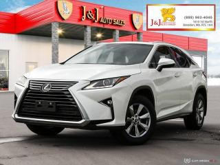 Used 2018 Lexus RX 350 Sunroof, Leather Seats, Keyless Entry for sale in Brandon, MB