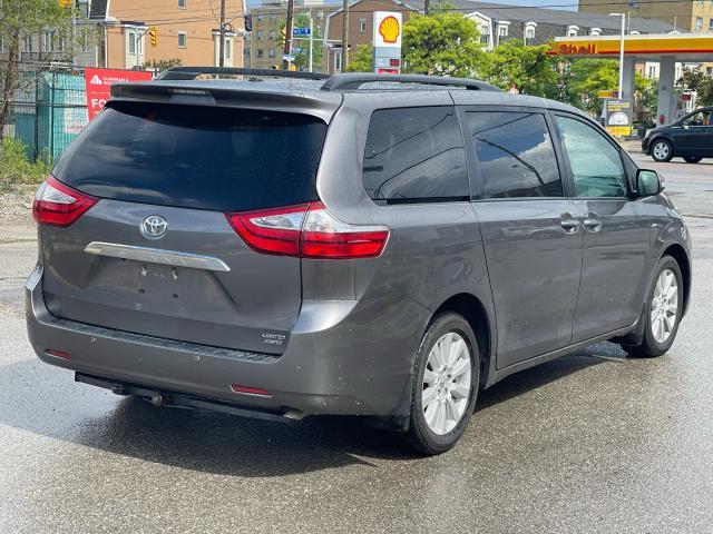 2017 Toyota Sienna Limited  AWD NAVIGATION/PANORAMIC SUNROOF /DVD Photo5