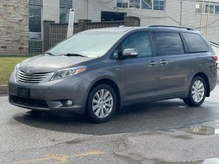 Used 2017 Toyota Sienna Limited  AWD NAVIGATION/PANORAMIC SUNROOF /DVD for sale in North York, ON