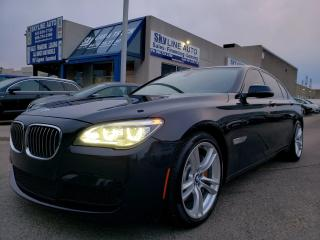 Used 2015 BMW 750 i xDrive HUD M-SPORTS NAVIGATION CERTIFIED for sale in Concord, ON