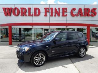 Used 2017 BMW X3 xDrive28i   Accident Free!   Ontario Local! for sale in Etobicoke, ON