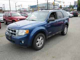 Used 2008 Ford Escape XLT for sale in Vancouver, BC