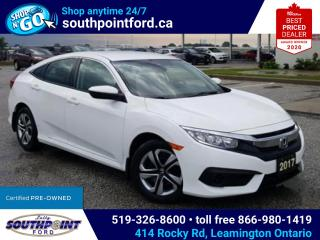 Used 2017 Honda Civic LX|HTD SEATS|ADAPTIVE CRUISE|LANE KEEPING|REV CAM for sale in Leamington, ON