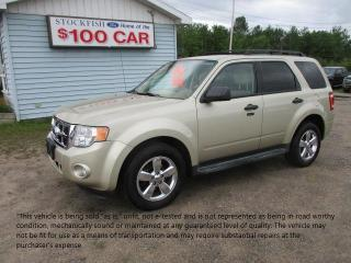 Used 2011 Ford Escape XLT for sale in North Bay, ON