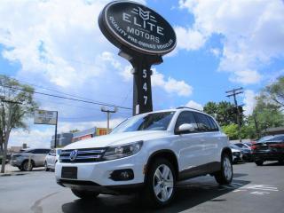 Used 2016 Volkswagen Tiguan 4MOTION 4dr Auto Comfortline for sale in Burlington, ON