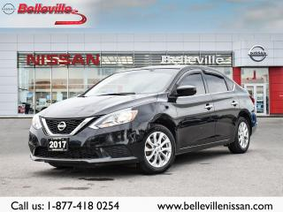 Used 2017 Nissan Sentra SV HEATED SEATS, SUNROOF. BLUETOOTH HANDSFREE for sale in Belleville, ON