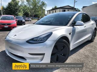 Used 2020 Tesla Model 3 Long Range ACCEL BOOST ($2700) OPTION  CHROME DELE for sale in Ottawa, ON