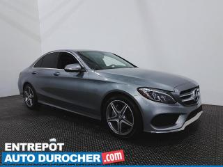Used 2015 Mercedes-Benz C-Class C 300 - AWD - Bluetooth - Climatiseur - Cuir for sale in Laval, QC