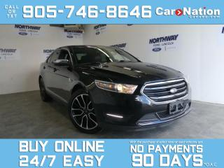 Used 2018 Ford Taurus LIMITED | AWD | LEATHER | ROOF | NAV | 20