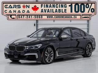 Used 2018 BMW 7 Series M760Li xDrive *RED INTERIOR* DVD, Bowers & Wilkins Sound for sale in Vaughan, ON