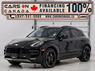 Used 2017 Porsche Macan AWD 4dr Turbo for sale in Vaughan, ON
