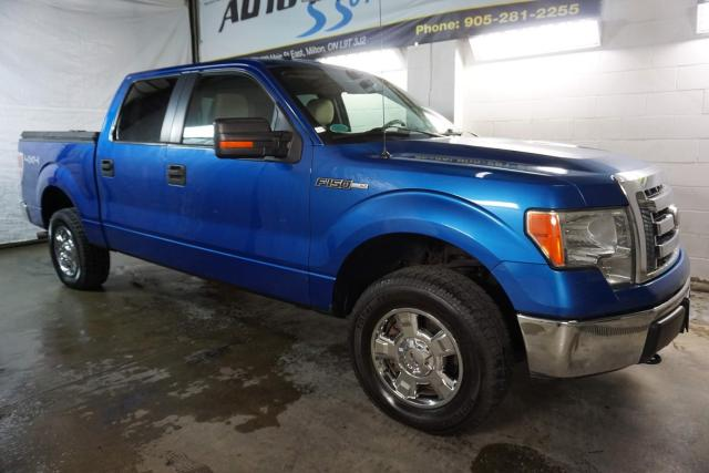 2010 Ford F-150 V8 XLT 4X4 SUPER CREW CERTIFIED 2YR WARRANTY *FREE ACCIDENT* ALLOYS BED COVER