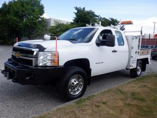 Used 2013 Chevrolet Silverado 2500 HD Flat Deck  7 foot Extra Cab 4WD With Winch for sale in Burnaby, BC