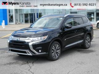 Used 2020 Mitsubishi Outlander GT  - Sunroof -  Leather Seats for sale in Kanata, ON