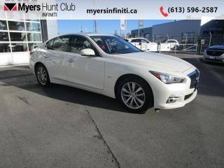 Used 2017 Infiniti Q50 3.0t Premium Package for sale in Ottawa, ON