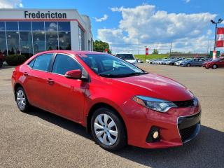 Used 2016 Toyota Corolla S for sale in Fredericton, NB
