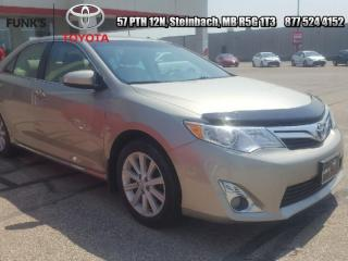 Used 2014 Toyota Camry 4DR SDN I4 AUTO XLE for sale in Steinbach, MB