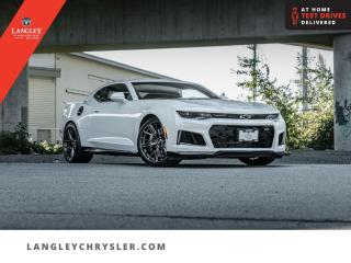 Used 2019 Chevrolet Camaro ZL1  Low KM/ One Owner/ Accident Free/ Loaded for sale in Surrey, BC