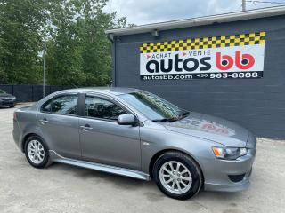Used 2012 Mitsubishi Lancer for sale in Laval, QC