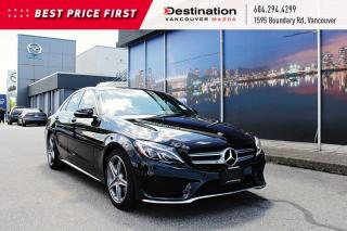 Used 2018 Mercedes-Benz C-Class C 300 - Luxurious red leather interior! a must see for sale in Vancouver, BC
