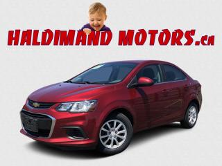 Used 2017 Chevrolet Sonic LT 2WD for sale in Cayuga, ON