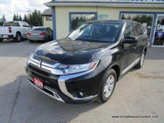 Used 2020 Mitsubishi Outlander ALL-WHEEL-CONTROL ES EDITION 7 PASSENGER 2.4L - DOHC.. MIDDLE BENCH & THIRD ROW.. HEATED SEATS.. BACK-UP CAMERA.. BLUETOOTH SYSTEM.. for sale in Bradford, ON
