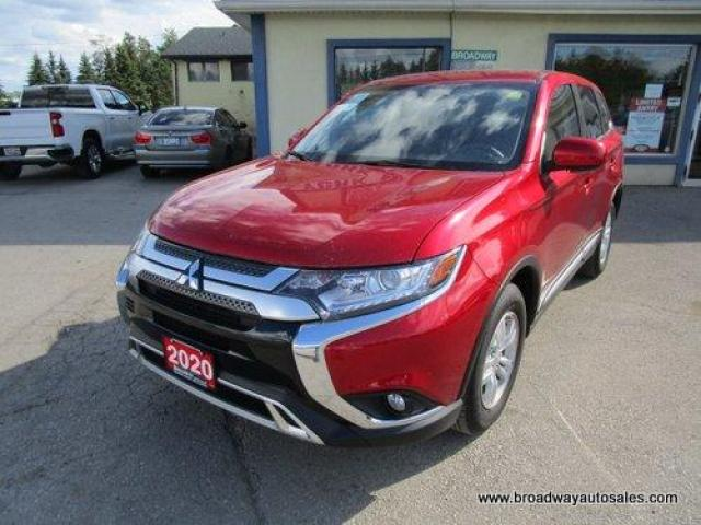 2020 Mitsubishi Outlander ALL-WHEEL-CONTROL ES EDITION 7 PASSENGER 2.4L - DOHC.. MIDDLE BENCH & THIRD ROW.. HEATED SEATS.. BACK-UP CAMERA.. BLUETOOTH SYSTEM..