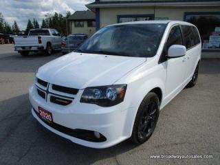 Used 2020 Dodge Grand Caravan LOADED GT-MODEL 7 PASSENGER 3.6L - V6.. CAPTAINS.. STOW-N-GO.. LEATHER.. HEATED SEATS & WHEEL.. BACK-UP CAMERA.. BLUETOOTH SYSTEM.. ECON-PACKAGE.. for sale in Bradford, ON
