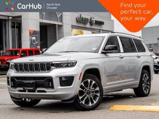 New 2021 Jeep Grand Cherokee L Overland|Uconnect NAV 10.1-inch|Adv ProTech Group III for sale in Thornhill, ON