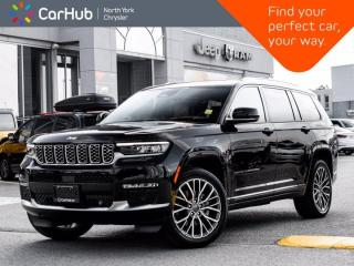 New 2021 Jeep Grand Cherokee L Summit Reserve Edition 4x4 Massage Seats ProTech IV Advanced Grp for sale in Thornhill, ON