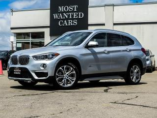 Used 2018 BMW X1 xDrive28i PANO ROOF CAMERA SENSORS LEATHER for sale in Kitchener, ON