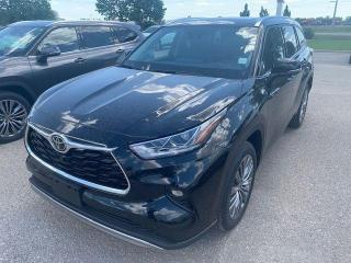 New 2021 Toyota Highlander LIMITED AWD for sale in Portage la Prairie, MB