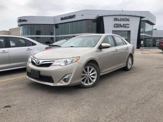 Used 2014 Toyota Camry XLE   Heated Front Seats   Navigation   for sale in Winnipeg, MB