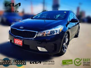 Used 2017 Kia Forte SX NAVI ROOF LEATHER  LKA  BSD  PUSH START LOW KM  for sale in North York, ON
