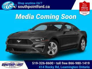 New 2021 Ford Mustang EcoBoost for sale in Leamington, ON