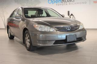 Used 2005 Toyota Camry 4-door Sedan LE 5A for sale in Richmond, BC