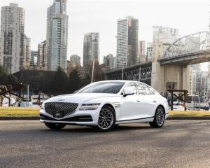 Used 2021 Genesis G80 2.5T Advanced AWD for sale in Vancouver, BC