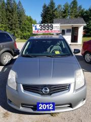 Used 2012 Nissan Sentra for sale in Oro Medonte, ON