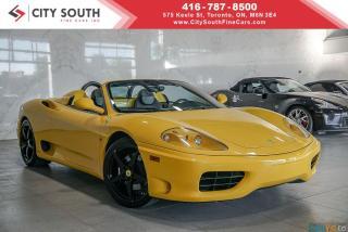 Used 2001 Ferrari 360 Modena 360 MODENA SPIDER for sale in Toronto, ON