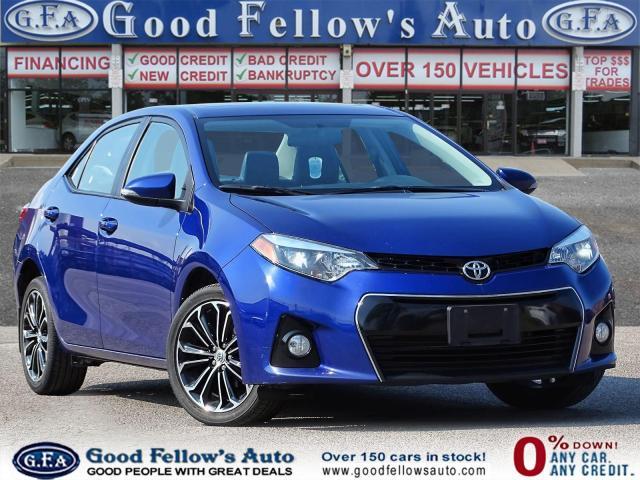 2016 Toyota Corolla S MODEL, SUNROOF, REARVIEW CAMERA, HEATED SEATS